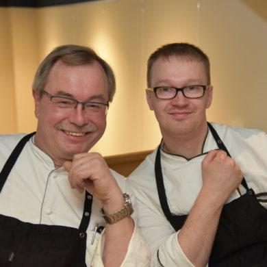 Uwe Steinhauer und Tim Rumker