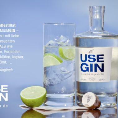 Für Euch destilliert: USE GIN